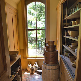 Pantry by Cal Brown - Buildings & Architecture Other Interior ( interior, pantry, building, genesee country village & museum, museum, architecture, public, travel photography, historic )