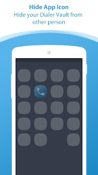 Dialer Vault I Hide Photo Video App OS 11 Phone 8 APK screenshot thumbnail 5