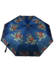 """Зонт """"Компакт S"""", сине-черный"""