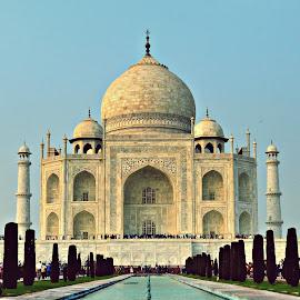 The Taj Mahal !! by Sudipto Chakraborty - Buildings & Architecture Public & Historical