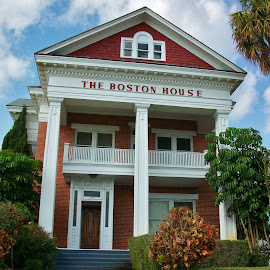 The Boston House by Matthew Beziat - Buildings & Architecture Office Buildings & Hotels ( sunshine state, treasure coast, cresthaven, florida, fort pierce, fort pierce florida, the boston house, boston house, historic homes )