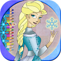 Drawings to paint Frozen APK for iPhone