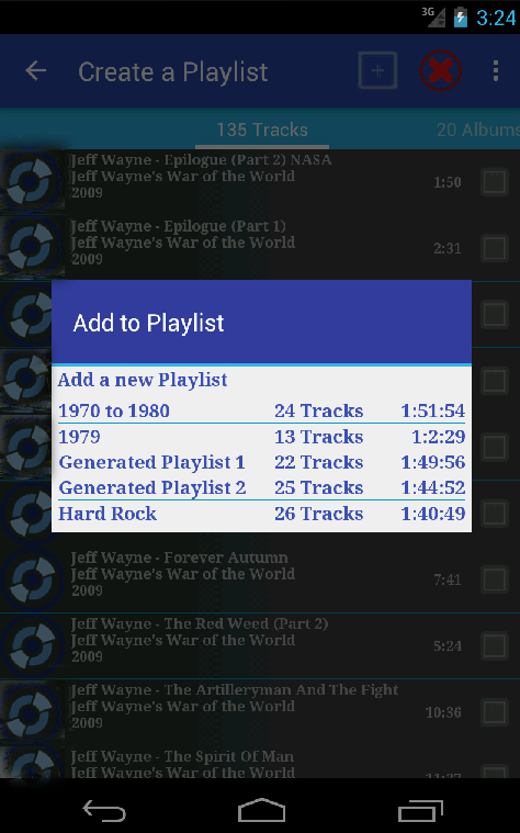 New Playlist Manager Screenshot 4