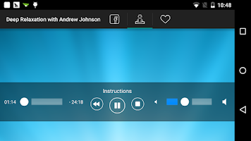 Screenshot of Relax with Andrew Johnson