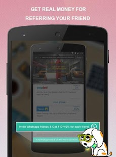 App LafaLafa Free Cashback Coupons apk for kindle fire