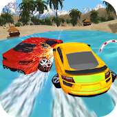 Download Water Car Drive Surfer Float APK on PC