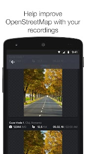 OpenStreetCam Screenshot