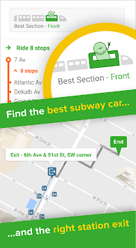 Citymapper APK screenshot thumbnail 3