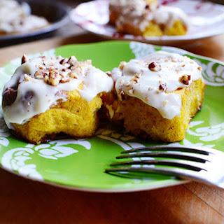 Pumpkin Cinnamon Rolls Recipes