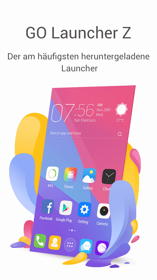GO Launcher-Theme, Wallpaper android apps download