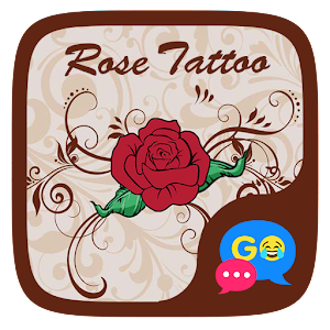 (FREE) GO SMS ROSE TATTOO THEME For PC