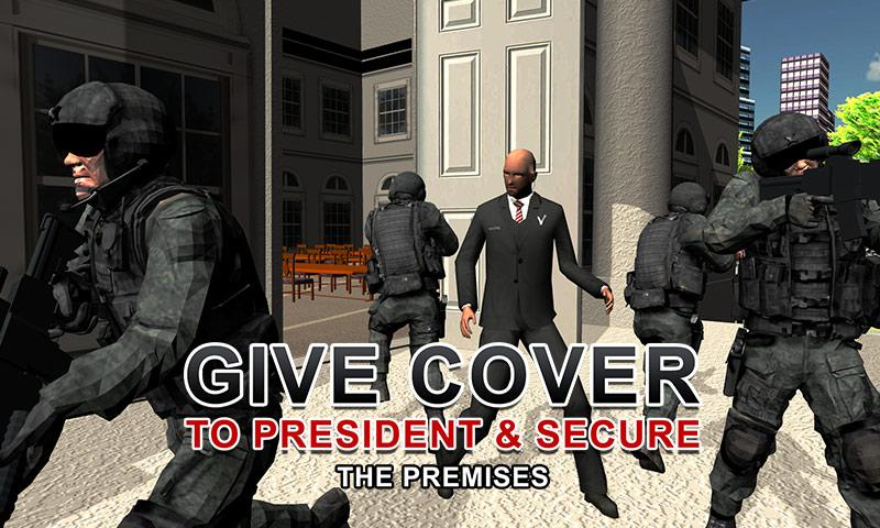 Army Shooter: President Rescue Screenshot 0