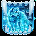 Free Neon Night Wolf Keyboard Theme APK for Windows 8