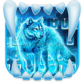 App Neon Night Wolf Keyboard Theme APK for Windows Phone