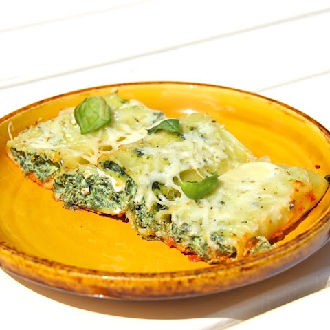 Stuffed Spinach and Ricotta Cannelloni