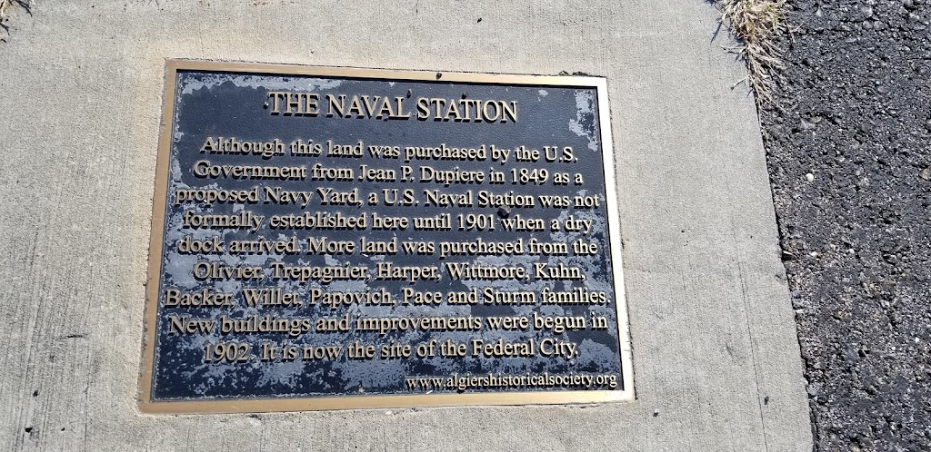 Although this land was purchased by the U.S. Government from Jean P. Dupiere in 1849 as a proposed Navy Yard, a U.S. Naval Station was not formally established here until 1901 when a dry dock ...