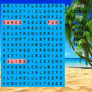 Childrens Holiday Word Search