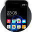 Stylish launcher theme for New iphone 7