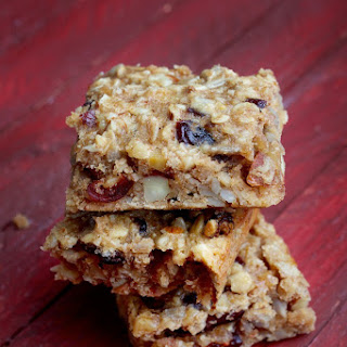 Nutty Oat Bars