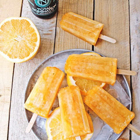 Grapefruit Shandy Beersicles