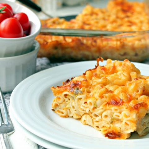Cheddar and Hatch Chile Macaroni and Cheese