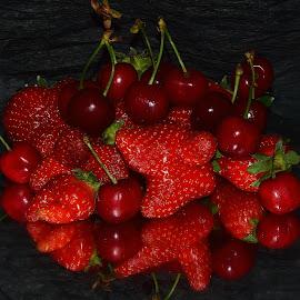 red fruits by LADOCKi Elvira - Food & Drink Fruits & Vegetables