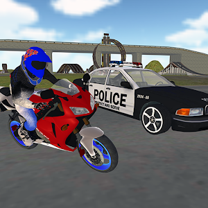 Stunt Bike Freestyle: Motorbike Police Chase For PC / Windows 7/8/10 / Mac – Free Download