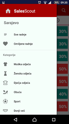 android SalesScout Screenshot 3