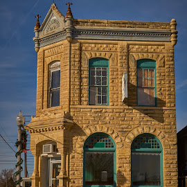 Sandstone Building  by Jeff Brown - Buildings & Architecture Public & Historical ( building, sandtone building, architecture, public )