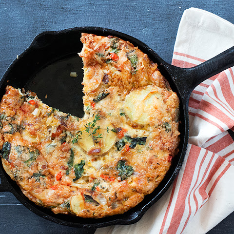 Frittata Rustica with Mixed Vegetables & Manchego