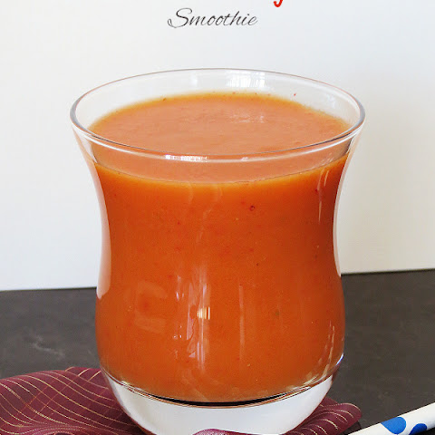 Carrot Strawberry Banana Smoothie