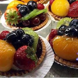 Individual Fruit Tarts by Lope Piamonte Jr - Food & Drink Cooking & Baking