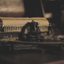 by Ares Karampourniotis - Artistic Objects Antiques ( old, wood, typewriter, vintage, metal )