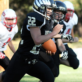 Football by Cassidy Meade - Sports & Fitness American and Canadian football ( football, twmf )