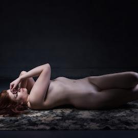 The Shame by Dennis Bater - Nudes & Boudoir Artistic Nude