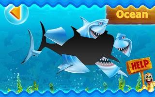 Screenshot of Kids Fish HD