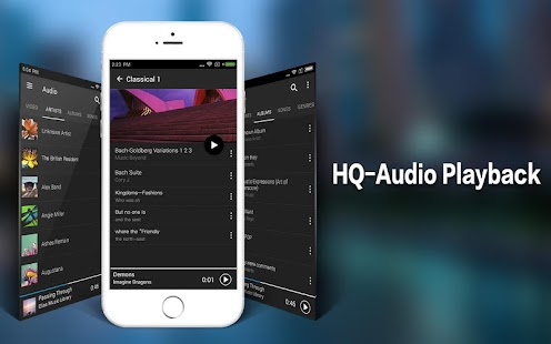 HD Video Player – Miniaturansicht des Screenshots