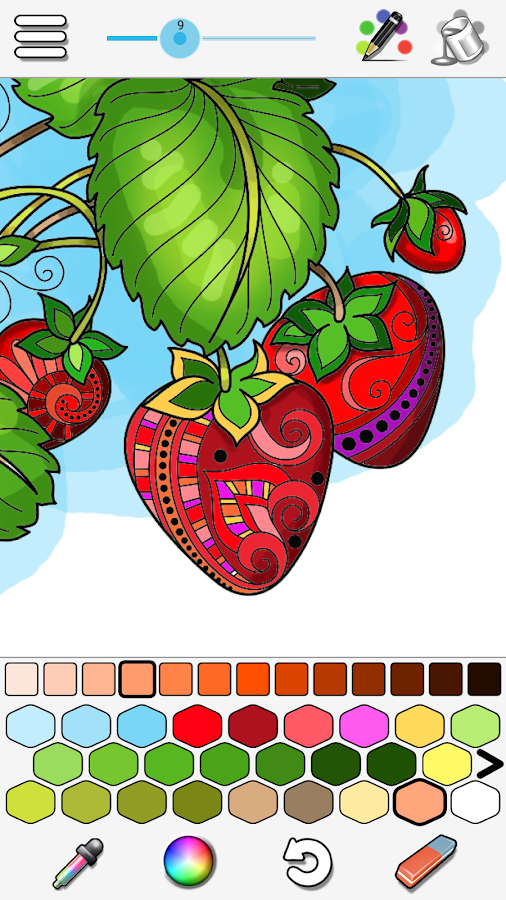Coloring Screenshot 1