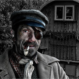 The Traveller by David Venables - People Portraits of Men