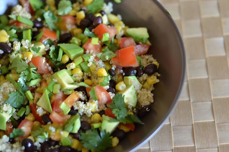 Black Bean and Corn Quinoa Salad Recipe | Yummly