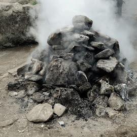 Rocks in the Geyser Area by Yosua Ardian - City,  Street & Park  Amusement Parks
