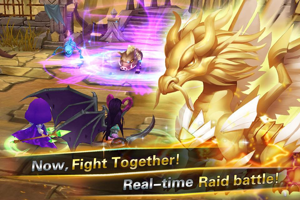 Clash of Summoners Screenshot 3