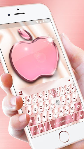 Rose Gold Keyboard for Phone8 For PC