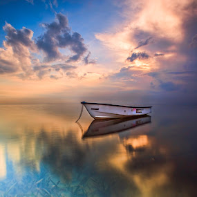 Alone  by Bertoni Siswanto - Landscapes Waterscapes ( transportation, landscapes )