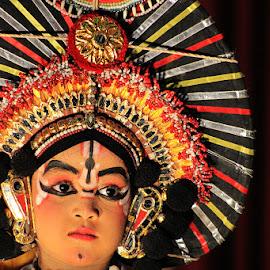 Life is colorful..... by Guru Prasad - People Musicians & Entertainers ( solo dance, art, guru prasad, kids, people, entertainment, yakshagana )