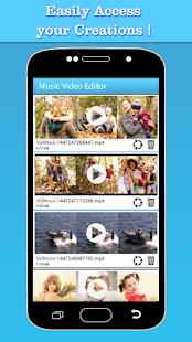 Music Video Editor Add Audio