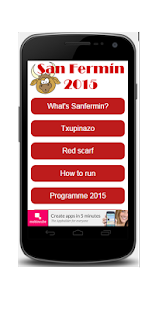 SanFermín 2015 - screenshot
