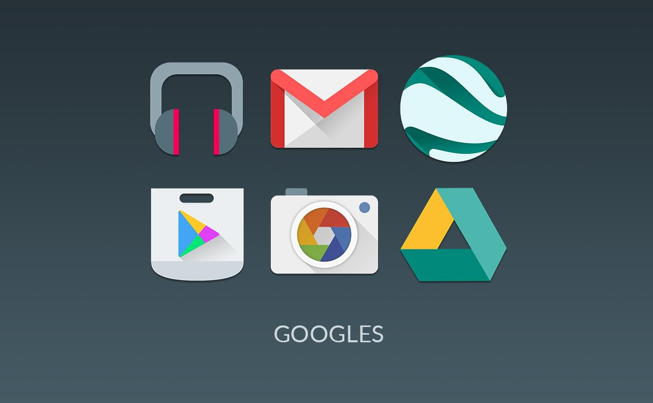 MATERIALISTIK ICON PACK Screenshot 2
