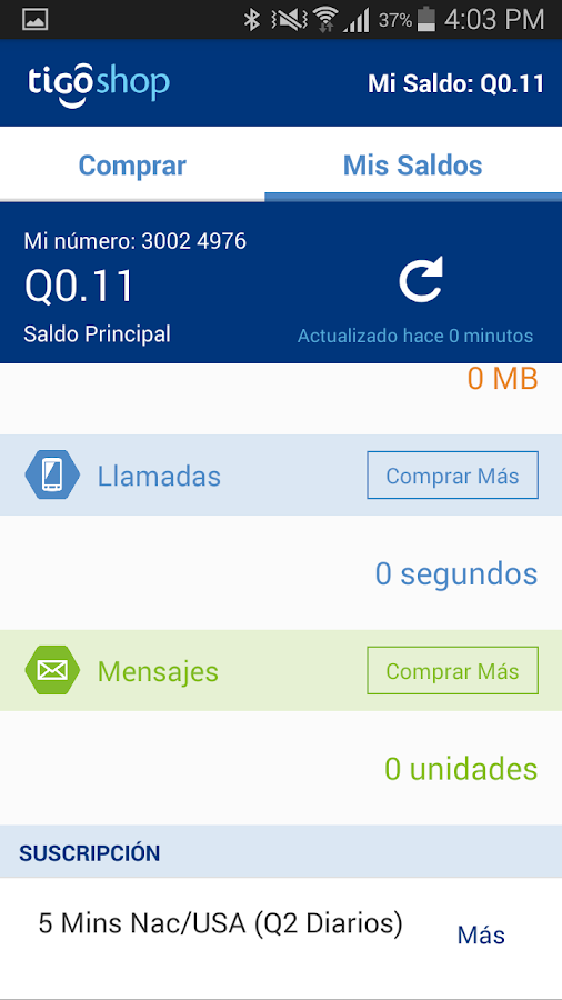 Tigo Shop Screenshot 14