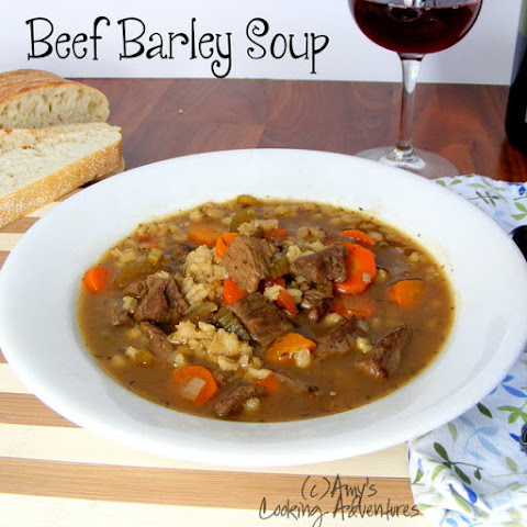 Comforting Ground Beef And Barley Soup Recipes — Dishmaps